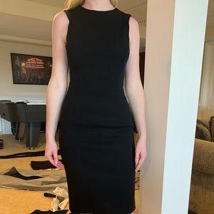 Barney's New York Black Shift Dress.